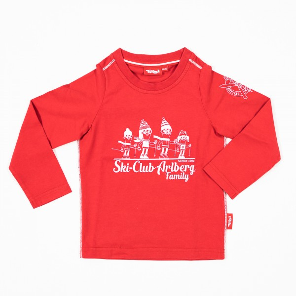 Trendiges Kinder Langarm Shirt