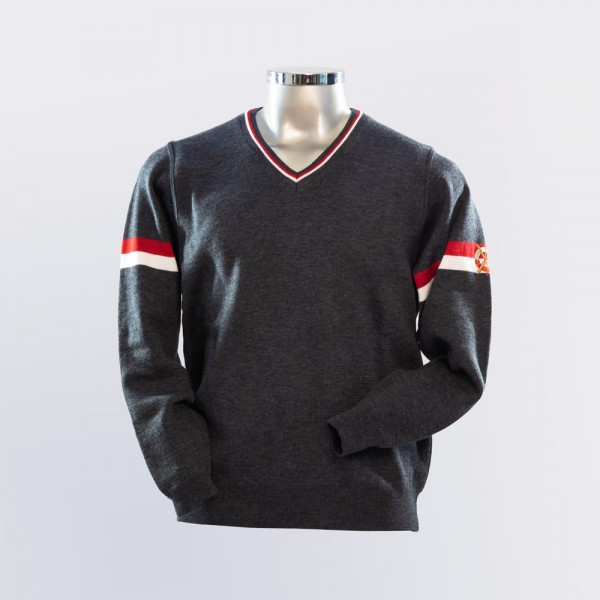 SCA Pullover V-Ausschnitt Damen
