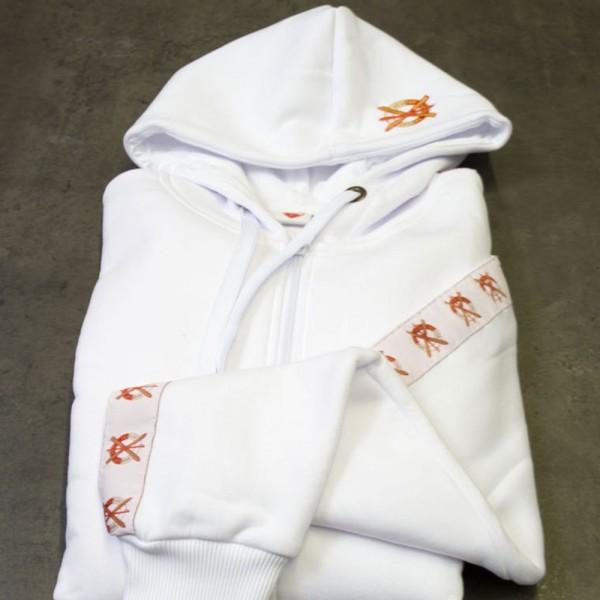 SCA-Sweatjacke weiß für Damen und Herren