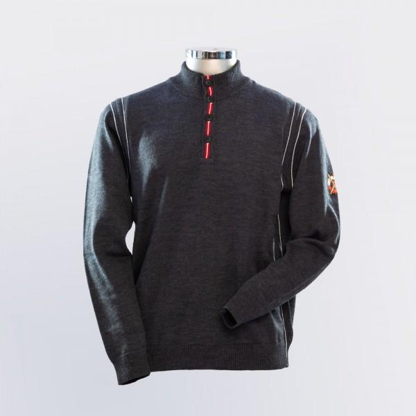 Pullover mit sportivem Stehkragen